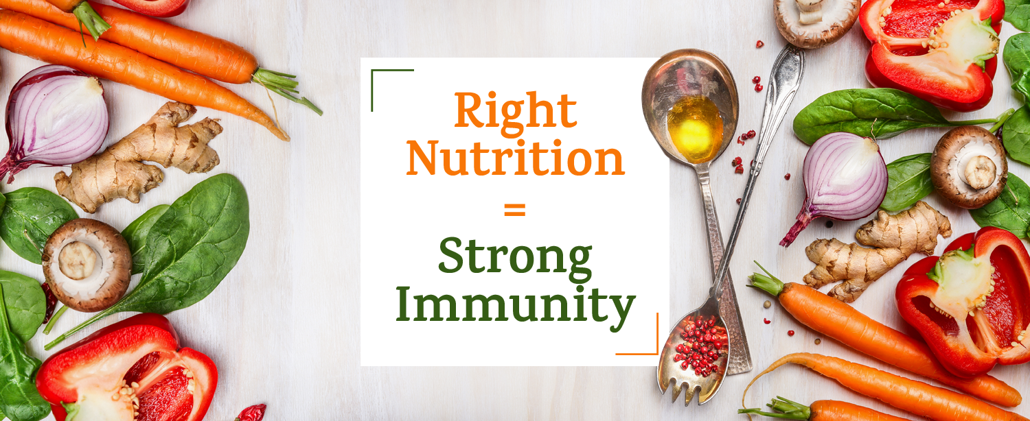 Foods for Strong Immunity